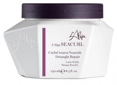 L`Alga Seacurl, odżywcza maska do włosów kręconych, 250ml