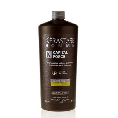 Kerastase Homme, energetyzująca kąpiel do włosów dla mężczyzn, 1000ml