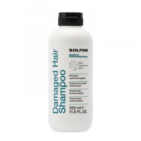 Solfine Care Damaged Hair, szampon do włosów zniszczonych, 350ml