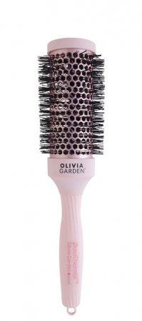 Olivia Garden Pro Thermal Pastel Pink, szczotka termiczna, różowa, 43mm
