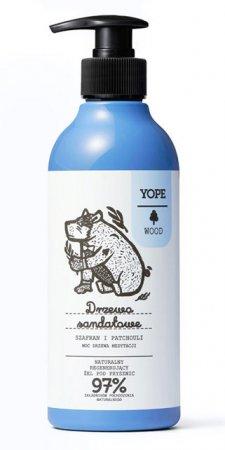 Yope, żel pod prysznic, Drzewo sandałowe, 400ml