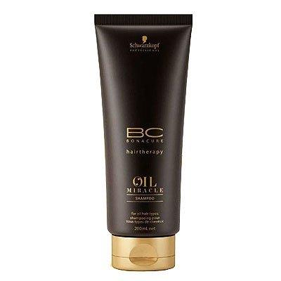Schwarzkopf BC Oil Miracle Argan Oil, szampon z olejkiem arganowym, 200ml