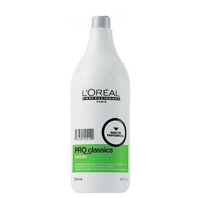 Loreal Pro_Classics Texture, szampon do stosowania przed zabiegami trwałego prostowania, ondulacji lub stylingu, 1500ml