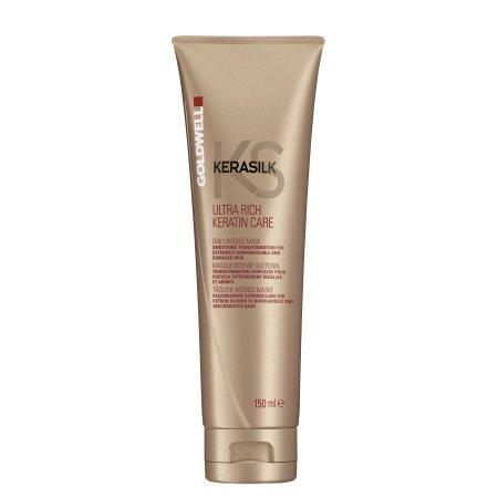 Goldwell Kerasilk Ultra Rich Care, keratynowa maska do włosów bardzo zniszczonych, 150ml