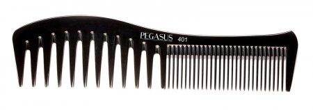 Grzebień fryzjerski Pegasus 401 z twardego kauczuku