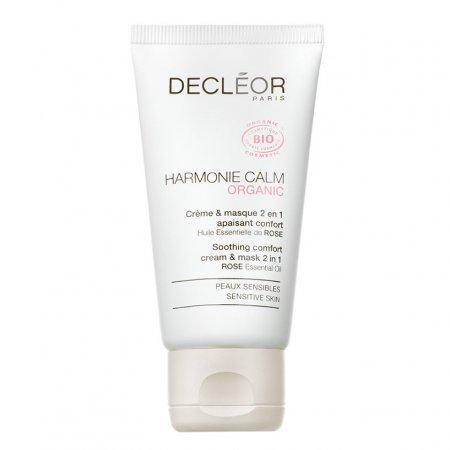 Decleor Harmonie Calm, Krem-maska 2w1 do skóry wrażliwej, 50ml