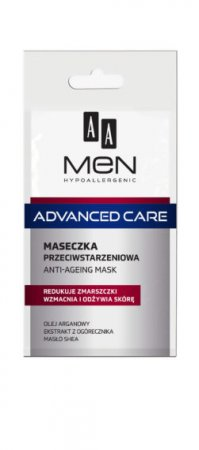 AA MEN Advanced Care, maseczka do twarzy przeciwstarzeniowa, 12ml