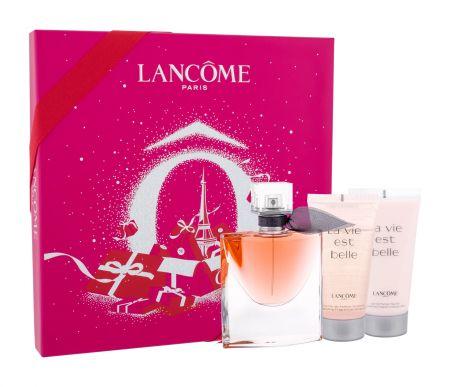 Lancôme La Vie Est Belle, zestaw: Edp 50ml + 50ml Balsam + 50ml Żel pod prysznic (W)