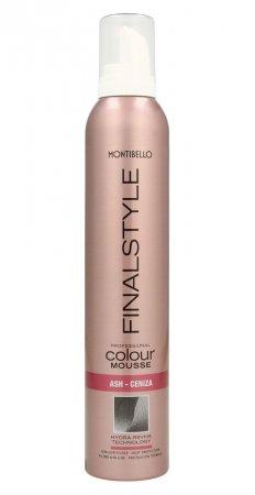 Montibello Finastyle Colour, koloryzująca pianka do włosów, popiel, 320ml