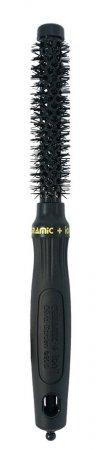 Olivia Garden Ceramic Ion, szczotka ceramiczna 15mm, czarna