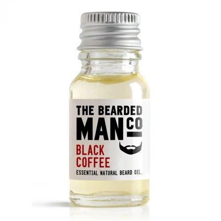 Bearded Man Black Coffee, olejek do brody Czarna Kawa, 10ml