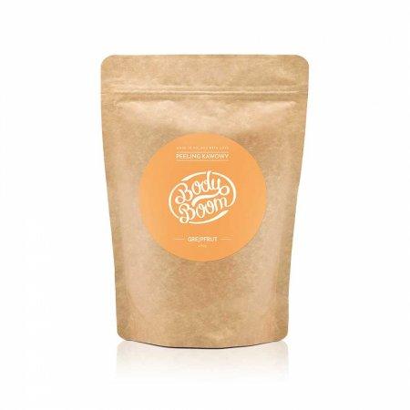 BodyBoom, peeling kawowy do ciała, Energetyczny Grejpfrut, 200g