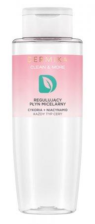 Dermika Clean&More, płyn micelarny do demakijażu cykoria + niacyniamid, 400ml