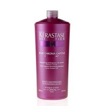 Kerastase Reflection Bain Chroma Captive, kąpiel rozświetlająca, chroniąca kolor włosów farbowanych, 1000ml