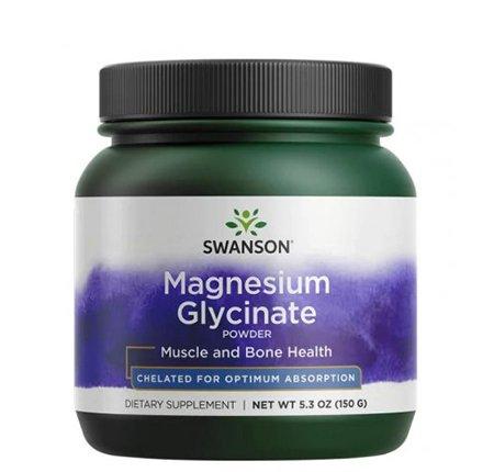 Swanson, albion chelat magnezu w proszku, 150g