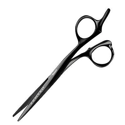 """Tondeo Zentao Offset, profesjonalne nożyczki do ślizgu dla alergików, kolor czarny, 5.5"""", 6.0"""""""