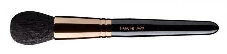 Hakuro J490, pędzel do pudru, czarny