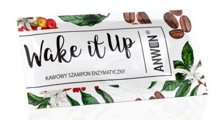 Anwen Wake It Up, enzymatyczny szampon kawowy, 10ml