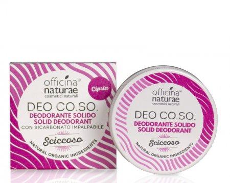 """CO.SO, dezodorant w kremie, zapach orchidei """"Sciccoso"""", 50ml"""