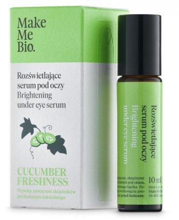 Make Me Bio Cucumber Freshness, rozświetlający roller pod oczy, 10ml
