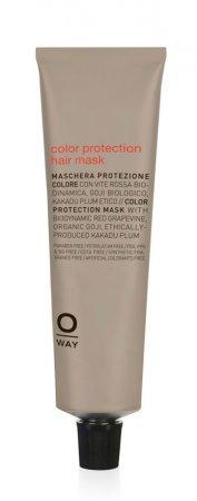 OWay Color Up, maska do włosów farbowanych, 50ml
