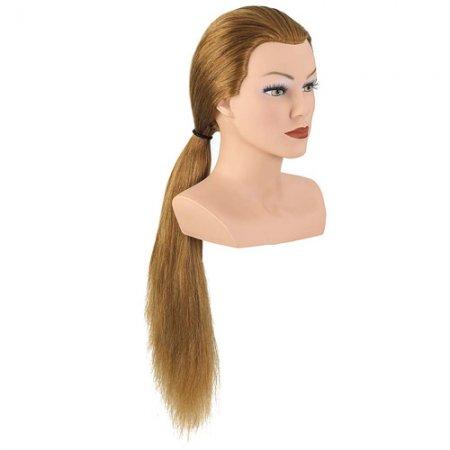 Bergmann główka treningowa Competition Long, blond, 100% naturalne włosy, 60cm, ref. 091031