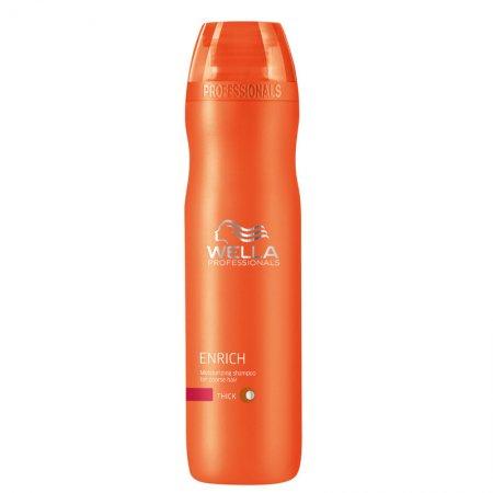 Wella Enrich szampon nawilżający do włosów grubych, 250ml