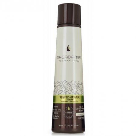 Macadamia Professional Weightless Moisture, nawilżający szampon do włosów cienkich, 300ml