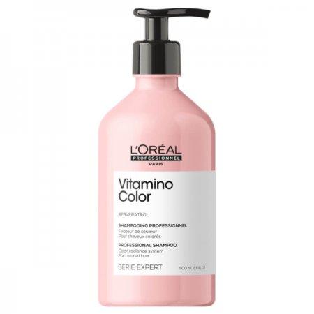 Loreal Vitamino Color, szampon do włosów farbowanych, 500ml