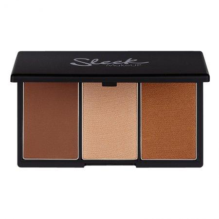 Sleek Makeup, paleta do konturowania twarzy, Medium