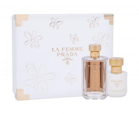 Prada La Femme, zestaw: Edp 100 ml + Mleczko do ciała 100 ml (W)