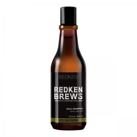 Redken Brews, szampon dla mężczyzn do codziennego stosowania, 300ml
