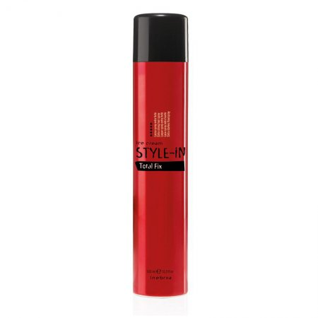Inebrya Style-In Total Fix, extra mocny lakier, 750ml