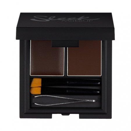 Sleek Makeup, zestaw do stylizacji brwi, extra dark