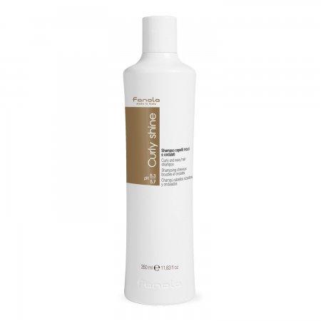 Fanola Curly Shine, szampon do włosów kręconych, 350ml