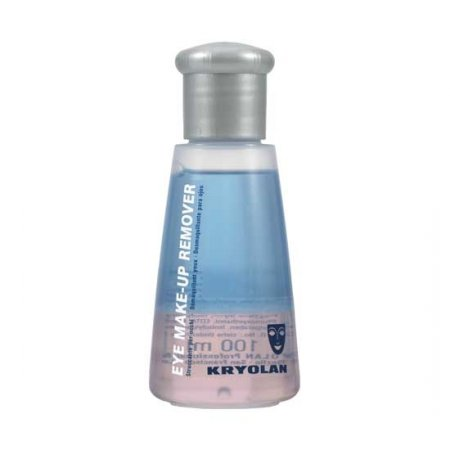 Kryolan, Eye Make-up Remover, płyn do demakijażu oczu, 100ml