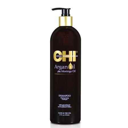 CHI Argan Oil & Moringa, szampon z olejkami, 739ml