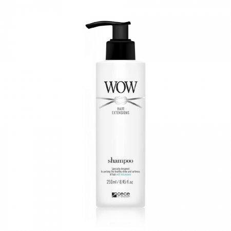 CeCe WOW Hair Extensions, szampon do włosów przedłużanych, 250ml