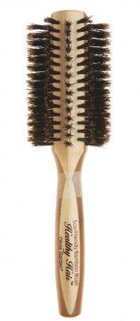 Olivia Garden Healthy Hair Boar, bambusowa szczotka z włosiem z dzika, 30mm