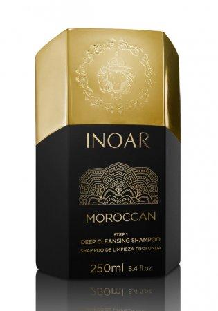 INOAR oczyszczający szampon do keratynowego prostowania, 250ml