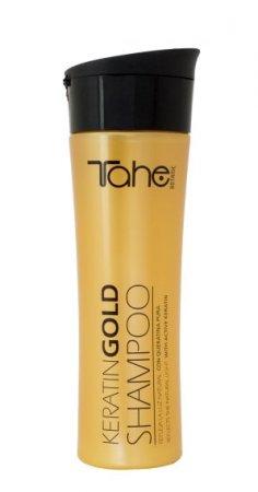 Tahe Botanic Gold Finishing, szampon regenerujący do włosów zniszczonych, 300ml