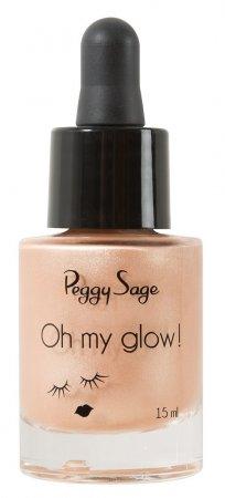 Peggy Sage Oh My Glow, rozświetlacz w płynie, 15ml, ref. 803485