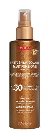 Pupa Multifunction Sunscreen, nawilżające mleczko przeciwsłoneczne SPF30, 200ml