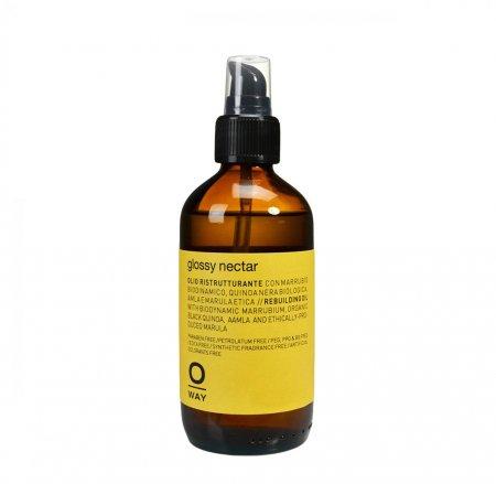 OWay Glossy Nectar, odbudowujący olejek wygładzający, 160ml