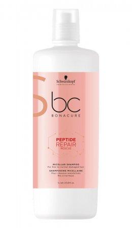 Schwarzkopf BC Repair Rescue, micelarny szampon regenerujący, 1000ml