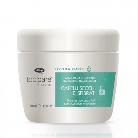Lisap Top Care Hydra Care, maska do włosów suchych, 500ml