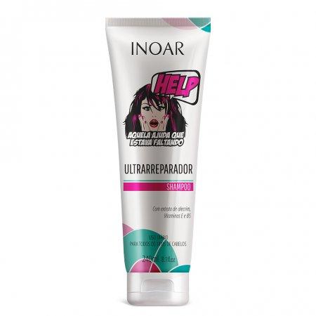 INOAR Help, szampon do włosów suchych, 240ml
