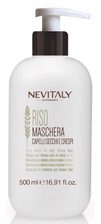 Nevitaly Riso, maska do włosów suchych, puszących się, 500ml