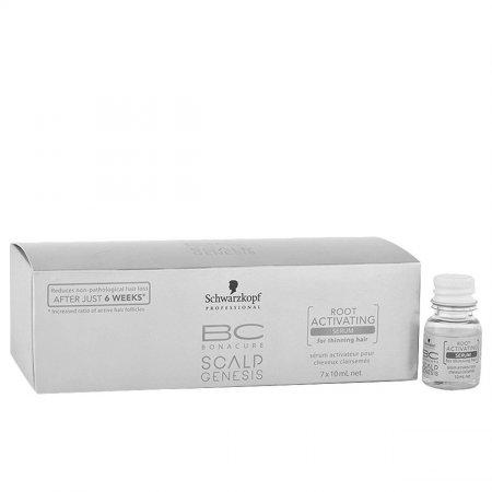 Schwarzkopf BC Scalp Genesis, serum aktywizujące przeciw wypadaniu, 7x10ml