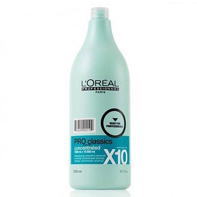 Loreal PRO_Classics Concentrated X10, szampon oczyszczający do rozcieńczenia, 1500ml